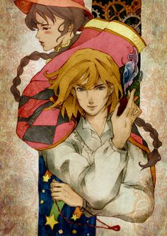 Unique fan art for Howl's Moving Castle. Love the Style and coloring! Howl's Moving Castle, Totoro, Studio Ghibli Art, Studio Ghibli Movies, Hayao Miyazaki, Howl Et Sophie, Laurence Anyways, Howl Pendragon, Castle In The Sky