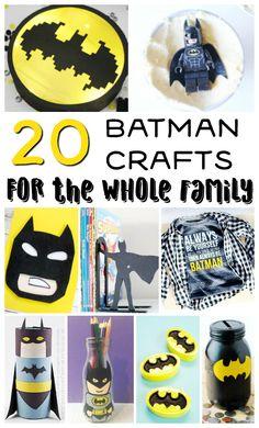 20 Batman Crafts for the Whole Family – Diy Poject Ideas Cute Batman, Batman Art, Bee Crafts, Plate Crafts, Toddler Preschool, Toddler Crafts, Make Your Own Superhero, Batman Crafts, T Craft