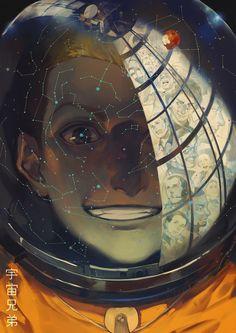 Nanba Hibito, Space Brothers, Reflected Dreams by シーザーちゃんまじ天使