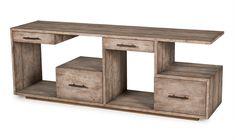 Bina Debbie Console Table-Driftwood