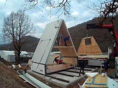 Hauspreise steigen! Aber diese schönen Häuser werden innerhalb von 6 Stunden gebaut und kosten ca. 25.000 Euro! - DIY Bastelideen
