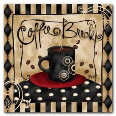 Would be a cute card to meet for coffee.