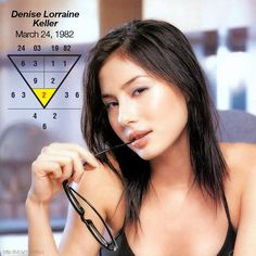 Denise Lorraine Keller, a Singaporean model & former VJ, MTV Asia, is born 24Mar 1982. A Root Number 2 who represents communication and vocal abilities, and talkative nature. Her ability to communicate and fill the air time make her perfect for her role in MTV Asia, on top of her good looks.  Do you know how to optimize your abilities and strengths? Go to numerology.anselmang.com and find out. #numerology #numerologyreading #numerologyreports #numerologyonlinecourses #denisekeller #model…