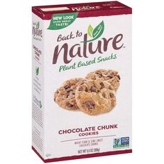 No Bake Cookies, Yummy Cookies, Dairy Free Recipes, Gourmet Recipes, Plant Based Snacks, Popsugar Food, Unsweetened Chocolate, Chocolate Chunk Cookies, Best Chocolate