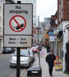 No Stopping, Bell Lane Spitalfields