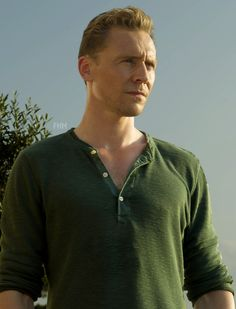 "Tom Hiddleston as Jonathan Pine, BBC's ""The Night Manager."""