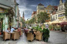 SOPOT, POLAND a quaint seaside town on the southern coast of the Baltic Sea.