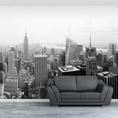 For Chiara-New York City Self Adhesive Wallpaper Mural. Cityscape Wallpaper, Print Wallpaper, Photo Wallpaper, Wallpaper Designs, Normal Wallpaper, Self Adhesive Wallpaper, Bold Prints, Poster Wall, Designer Wallpaper