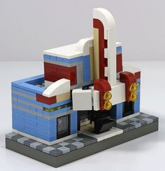Lego Mocs Micro ~ Microscale Theater | by Stacy_ToT-LUG