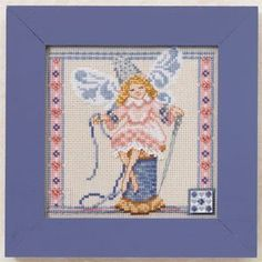 Needlework Fairy by Jim Shore, a xstitch pattern