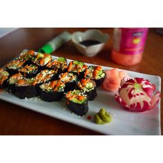 Omega-3s and Low carb Sushi