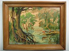 Florida Everglades 41G3   Paint By Number Museum