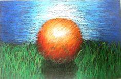 ARTISUN: 7th Grade Oil Pastel Spheres