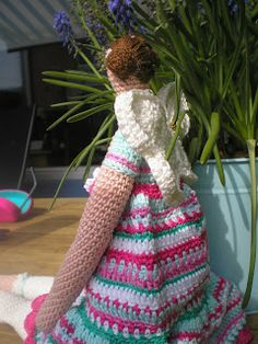 Inge's Creaties: Deel 3 Tilda pop Kleding en vleugels