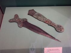 A Celtic dagger -- similar to ones that appear in the series. The Eighth Day, Fantasy Series, Celtic