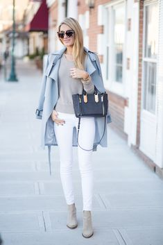 Light Blue Trench | Blonde Expeditions