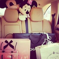 Imagem de chanel, car, and shopping