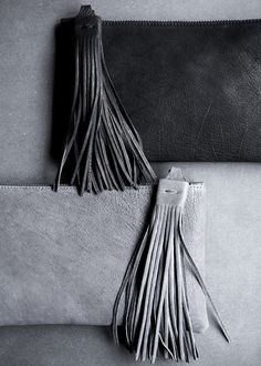 Yvonne Koné › New Tassel Clutch