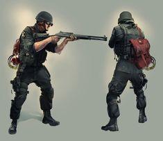 Tom Clancy's Rainbow Six Siege - Thermite Concept