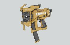 ArtStation - Electromagnetic nail gun, Jason song
