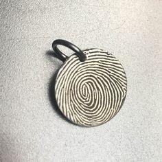 A personal favorite from my Etsy shop https://www.etsy.com/listing/495439861/fingerprint-necklace-fingerprint-jewelry