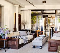 Meg Ryan's chic and sophisticated New York City loft!
