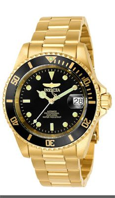 Invicta Men's Pro Diver Japanese Automatic Watch $94.51 & FREE Shipping.