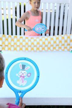 DIY Fabric Ping Pong Project // Kids Craft Ideas