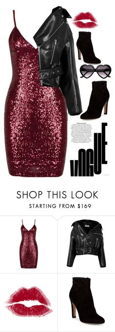 """Party Look"" by heythatsalya ❤ liked on Polyvore featuring Balenciaga and Gianvito Rossi"