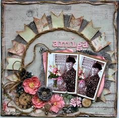 Layout: Amiga- ScrapThat! October kit Reveal