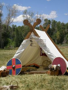 viking tent style  #renratsguide