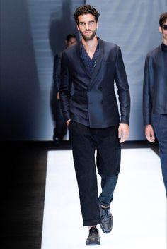 Sfilata Moda Uomo Emporio Armani Milano - Primavera Estate 2017 - Vogue