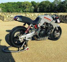 Reposted from - I've had a long standing obsession with the original Suzuki Katana since I saw the prototype poster… Suzuki Bikes, Suzuki Motorcycle, Suzuki Gsx, Motorcycle Paint, Concept Motorcycles, Vintage Motorcycles, Custom Motorcycles, Honda Cbx, Custom Sport Bikes