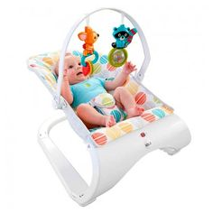Cadeirinha Brincando no Bosque Vibratoria CFB88 - Fisher Price.