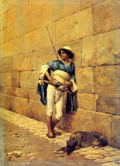 La Sentinelle, by Charles Bargue (1876)