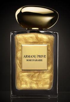 Armani Privé : Le parfum collector Rose d'Arabie Armani Privé