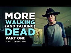 """MORE WALKING (AND TALKING) DEAD: PART 1"" - A Bad Lip Reading of The Walking Dead Season 4 - YouTube @ashleyelliott67"