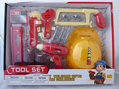 Super Tool Set with Hard Hat -- This is an Amazon Affiliate link. You can get additional details at the image link.
