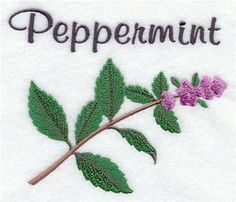 Machine Embroidery Designs at Embroidery Library! - Herbs & Spices