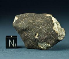 Wiluna meteorite.  Stone, chondrite, H5, W0.  Locality: 5 miles due east of Wiluna township, Western Australia.  Fell September 2, 1967, 10:46 p.m. local time.  TKW: 150 kg..............MY BIRTHDAY!!!!!!