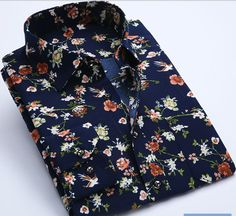 New Spring Men Casual Shirts Fashion Long Sleeve Brand Printed Button-Up Formal . New Spring Men Casual Shirts Fashion Long Sleeve Brand Printed Button-Up Formal Business Polka Dot Floral Men Mens Printed Shirts, Branded Shirts, Men Shirts, Business Shirts, Slim Fit Casual Shirts, Men Casual, Camisa Vintage, Floral Shirt Dress, Floral Shirts