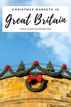 British Christmas markets are great to visit in winter. This guide has the best UK Christmas markets in London, Birmingham, Bath, Edinburgh, and other cities. They're some of the best Christmas markets in the UK. #christmas #uk #christmasmarkets Christmas In Britain, Edinburgh Christmas Market, Christmas In England, Best Christmas Markets, Christmas Travel, Christmas Uk, Christmas Lights, Christmas Decorations, Edinburgh Travel
