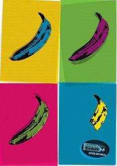 publicité pop art Orbit