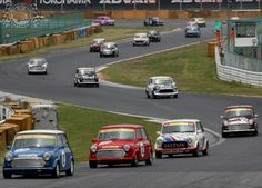 A Track Full of Sunday Screaming Mini Racers, happy days!
