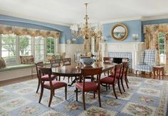 This Long Island Estate Goes Overboard With Preppy Decor