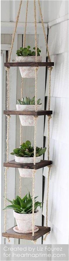 ** DIY Vertical Plant Hanger - I Coronary heart Nap Time