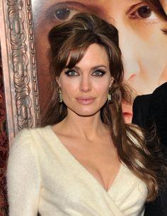 Angelina Jolie Smoky Eyes