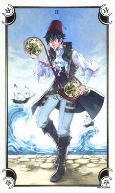 Альбом Mystical Manga Tarot (Poisoncage Tarot) — Таро Семи Звезд | Энциклопедия карт Таро и оракулов Rozamira