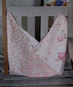 Victorian Paisley Bento Project Bag