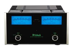 McIntosh MC302 Amplifier, MC302 Classic McIntosh Amplifier, 300 watts per channel, 0.005% Total Harmonic Distortion, 122db S/N Ratio